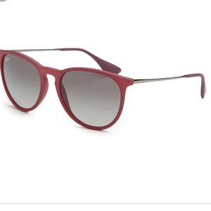 Ray-Ban Erika Maroon sunglasses